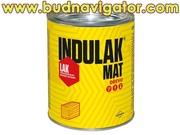 Матовый полиуретановый лак для дерева на водной основе INDULAK MAT
