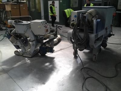 Дробеструйная обработка бетона - main