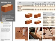Керамические блоки HELUZ  для строительства пассивных домов! - foto 1